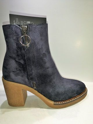ALPE Boots suede marine 4518