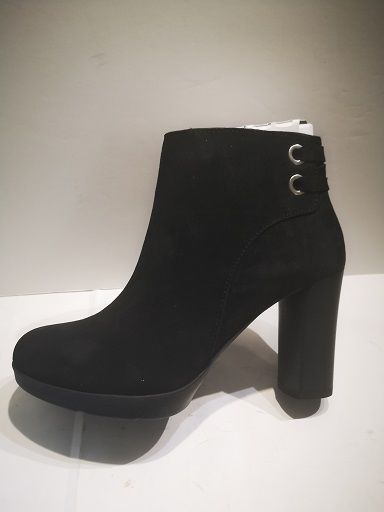 GEOX boots anylla high suede nero
