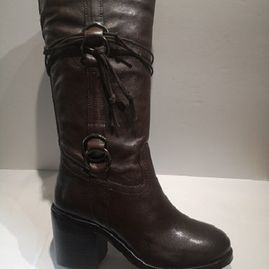 Cafè noir mid botte 1030 cuir brown