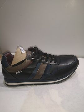 PIKOLINOS sneaker cuir Black blue grey