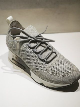 ASH sneaker Lunatic Knit grey lurex
