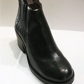 MJUS boots leather black M672