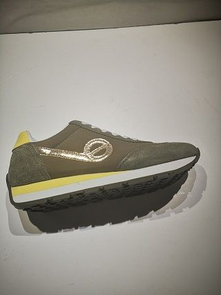 NO NAME City run jogger suede breaker forest