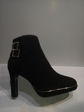 JB Martin Boots Wally suede noire